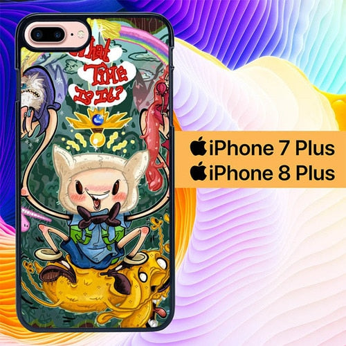 Adventure Time Madness  L1149 hoesjes iPhone 7 Plus , iPhone 8 Plus