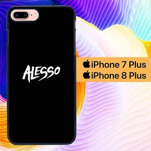 Alesso Black L1193 hoesjes iPhone 7 Plus , iPhone 8 Plus