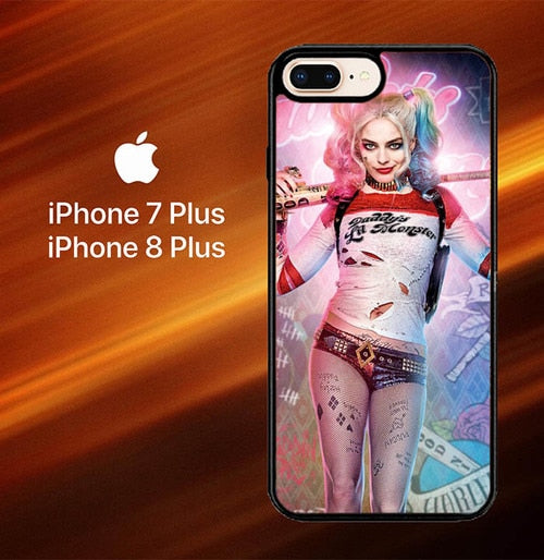 Harley Quinn L1419 hoesjes iPhone 7 Plus , iPhone 8 Plus