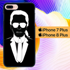 Karl Lagerfeld L1584 hoesjes iPhone 7 Plus , iPhone 8 Plus