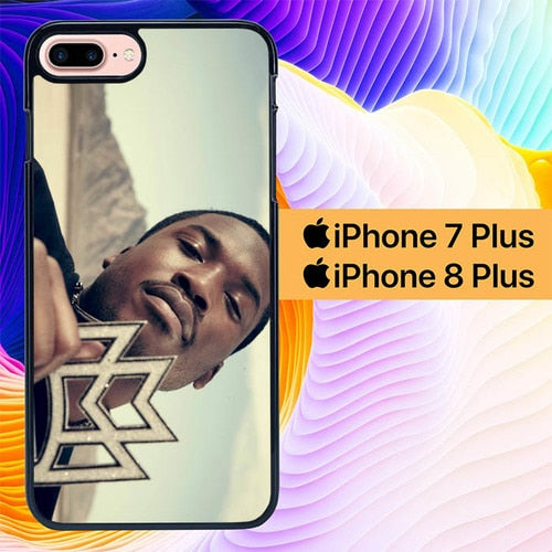Meek Mill Ooh Kill Em L1590 hoesjes iPhone 7 Plus , iPhone 8 Plus