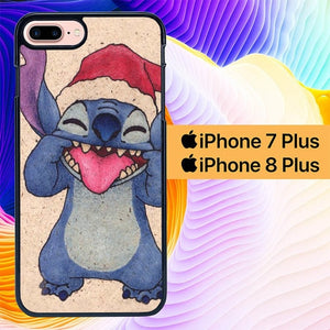 Christmas Stitch Drawing Disney L1882 hoesjes iPhone 7 Plus , iPhone 8 Plus