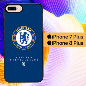 Chelsea Logo Blue L1984 hoesjes iPhone 7 Plus , iPhone 8 Plus