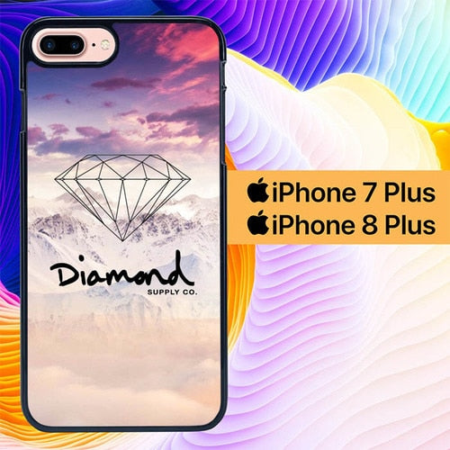 Diamond Supply Co. L1988 hoesjes iPhone 7 Plus , iPhone 8 Plus