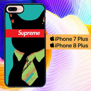 Supreme Cat Bussiness L2004 hoesjes iPhone 7 Plus , iPhone 8 Plus