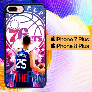 Ben Simmons L2726 hoesjes iPhone 7 Plus , iPhone 8 Plus