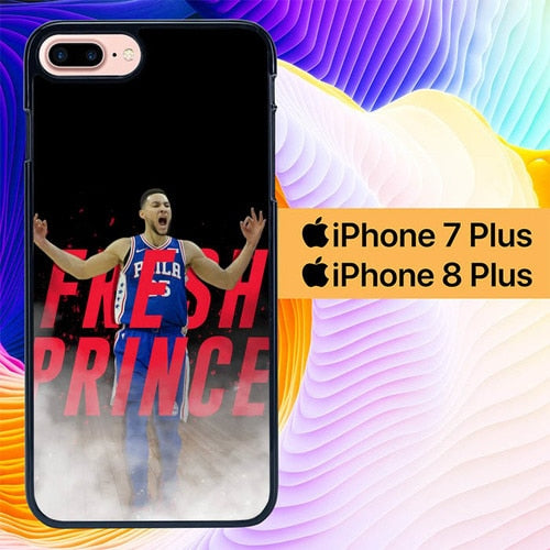 Ben Simmons Fresh Prince L2727 hoesjes iPhone 7 Plus , iPhone 8 Plus