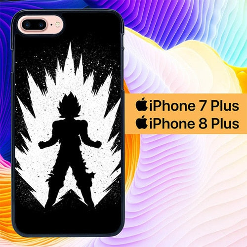 Goku Angry L2749 hoesjes iPhone 7 Plus , iPhone 8 Plus