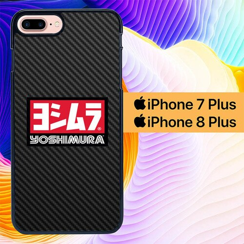 Yoshimura Carbon Exhaust L2836 hoesjes iPhone 7 Plus , iPhone 8 Plus