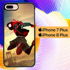 Spiderman Swing L2863 hoesjes iPhone 7 Plus , iPhone 8 Plus