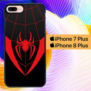 Spiderman Miles Suit L2937 hoesjes iPhone 7 Plus , iPhone 8 Plus