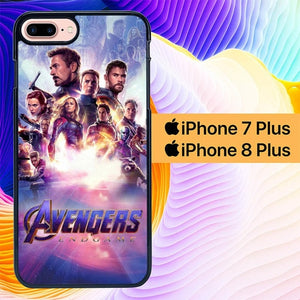 The Avengers Endgame L2940 hoesjes iPhone 7 Plus , iPhone 8 Plus