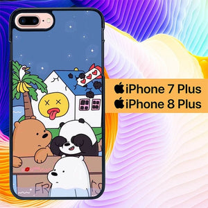 We Bare Bears L2942 hoesjes iPhone 7 Plus , iPhone 8 Plus
