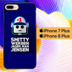 Smitty Werben Jager Man Jensen L3017a hoesjes iPhone 7 Plus , iPhone 8 Plus
