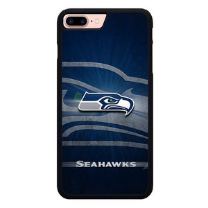 Seattle Seahawks Logo L3043 hoesjes iPhone 7 Plus , iPhone 8 Plus
