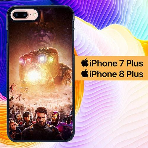 Avengers Infinity Wars 2 L3046 hoesjes iPhone 7 Plus , iPhone 8 Plus