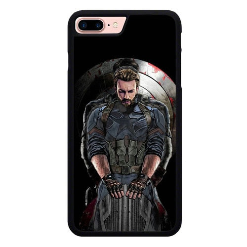 Captain America L3055 hoesjes iPhone 7 Plus , iPhone 8 Plus