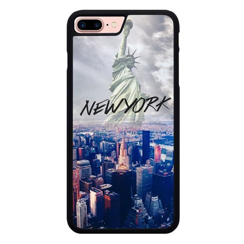 The New York City Skyfall L3072 hoesjes iPhone 7 Plus , iPhone 8 Plus