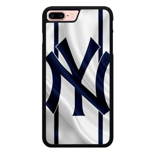 New York yankees Logo Flag L3092 hoesjes iPhone 7 Plus , iPhone 8 Plus