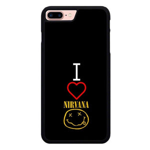 I Love Nirvana L3136 hoesjes iPhone 7 Plus , iPhone 8 Plus
