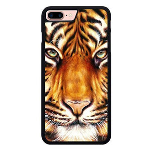 Tiger Face L3167 hoesjes iPhone 7 Plus , iPhone 8 Plus