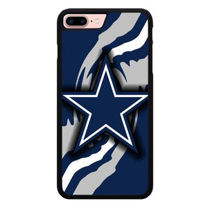 Dallas Cowboys Logo L3176 hoesjes iPhone 7 Plus , iPhone 8 Plus