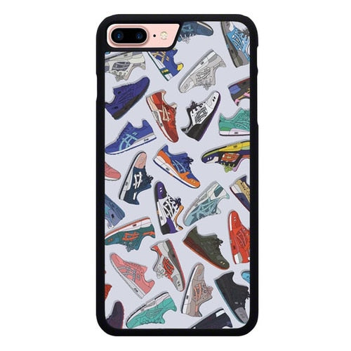 Asics Shoes Art L3210 hoesjes iPhone 7 Plus , iPhone 8 Plus