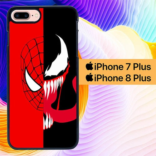 Spiderman x Venom L3227 hoesjes iPhone 7 Plus , iPhone 8 Plus