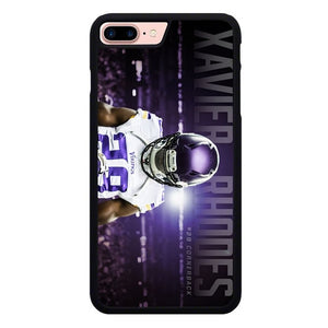 Xavier Rhoes Viking Minnesota L3230 hoesjes iPhone 7 Plus , iPhone 8 Plus