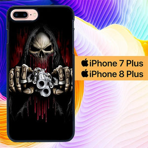 Undead Assassin Gun L3232 hoesjes iPhone 7 Plus , iPhone 8 Plus