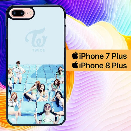 Twice Wallpaper L3233 hoesjes iPhone 7 Plus , iPhone 8 Plus