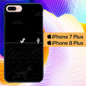 No Internet Dinosaurus L3247 hoesjes iPhone 7 Plus , iPhone 8 Plus