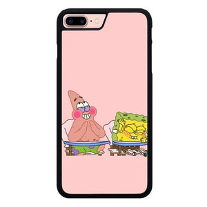 Spongebob Number 5 Jokes L3259 hoesjes iPhone 7 Plus , iPhone 8 Plus