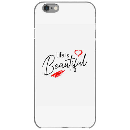 life is beautiful iphone 6 6s hoesjes