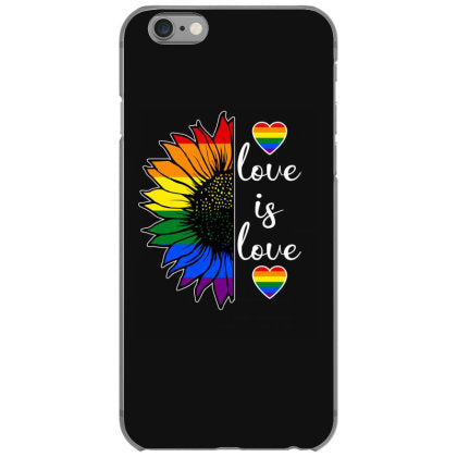 love is love sunflower for dark iphone 6 6s hoesjes