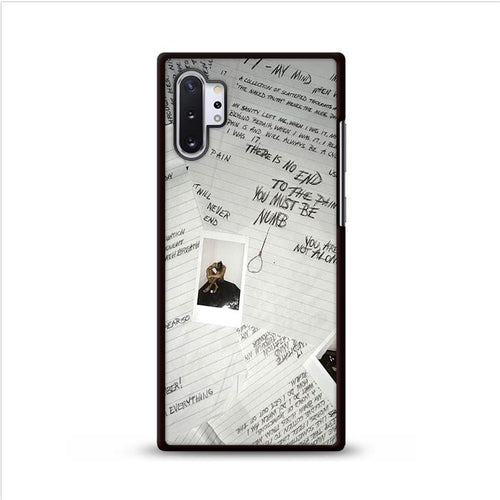 Xxxtentacion 17 Album Art Samsung Galaxy Note 10 Plus hoesjes
