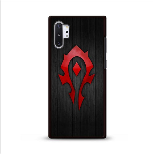 World of Warcraft Horde Samsung Galaxy Note 10 Plus hoesjes