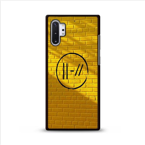 Yellow Twenty One Pilots Samsung Galaxy Note 10 Plus hoesjes