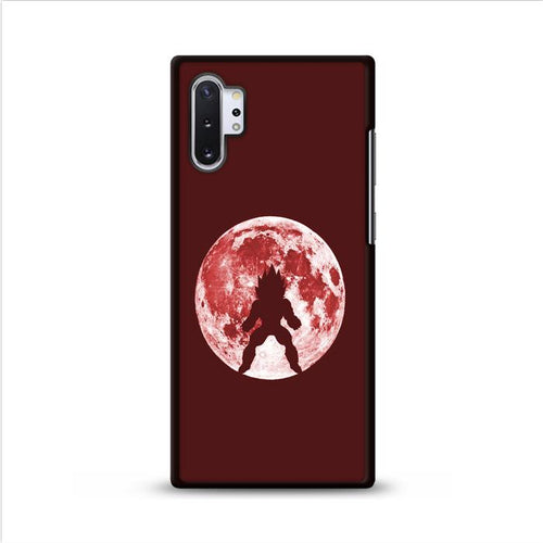Vegeta Red Moon Samsung Galaxy Note 10 Plus hoesjes