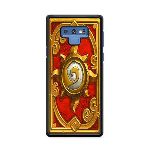 World of Warcraft Hearthstone Pandaria Samsung Galaxy Note 9 hoesjes