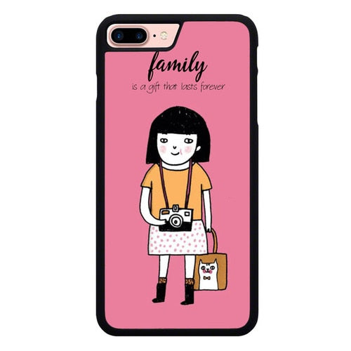 FAMILY W9174 hoesjes iPhone 7 Plus , iPhone 8 Plus