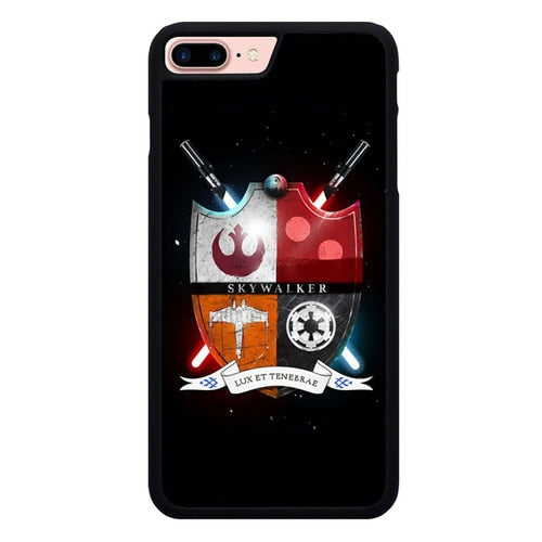 Star Wars W9209 hoesjes iPhone 7 Plus , iPhone 8 Plus
