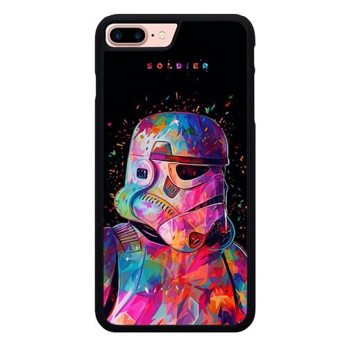 Stormtrooper W9242 hoesjes iPhone 7 Plus , iPhone 8 Plus