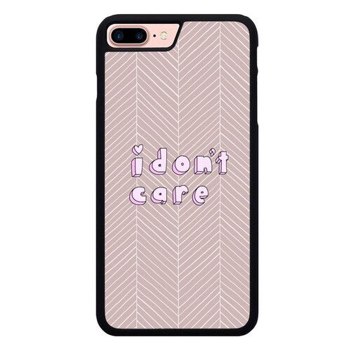 I DONT CARE W9275 hoesjes iPhone 7 Plus , iPhone 8 Plus