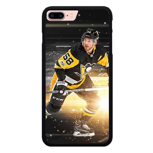 Pittsburgh Penguins W9279 hoesjes iPhone 7 Plus , iPhone 8 Plus