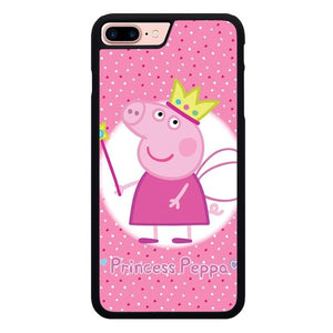 Peppa pig W9289 hoesjes iPhone 7 Plus , iPhone 8 Plus