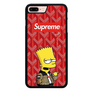 supreme simpsons W9338 hoesjes iPhone 7 Plus , iPhone 8 Plus