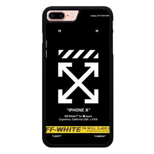 off white W9369 hoesjes iPhone 7 Plus , iPhone 8 Plus