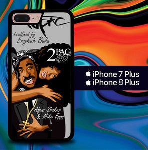 2pac tupac shakur Y2533 hoesjes iPhone 7 Plus , iPhone 8 Plus
