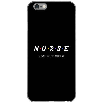 nurse mom wife nurse tshirt black iphone 6 6s hoesjes